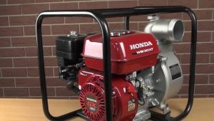 Особенности мотопомп Honda