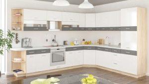Белая угловая кухня: особенности и варианты дизайна