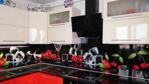 Фартук для кухни: высота, цвета и идеи дизайна