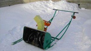 Как изготовить снегоуборщик из бензопилы своими руками?