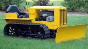 Особенности гусеничных мини-тракторов