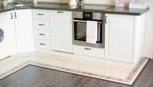 Особенности комбинирования плитки и ламината на кухне