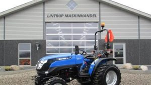 Особенности мини-тракторов Solis