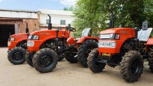 Особенности полноприводных мини-тракторов