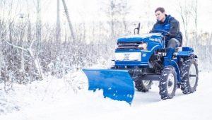 Отвал на мини-трактор: выбор и изготовление своими руками
