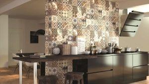 Плитка на кухне: варианты дизайна и рекомендации по укладке