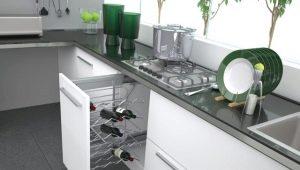 Размеры бутылочниц для кухни