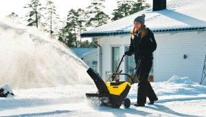 Снегоуборщики Huter: какими бывают и как их использовать?