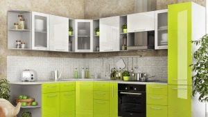 Стили оформления угловых кухонь