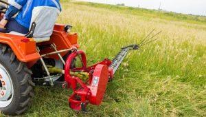 Виды и тонкости выбора косилки для мини-трактора