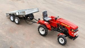 Выбираем прицеп для мини-трактора