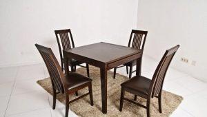 Деревянные столы для кухни: виды и правила выбора