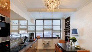 Дизайн кухни площадью 18 кв. м