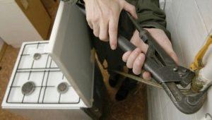Как отключить газовую плиту самостоятельно?