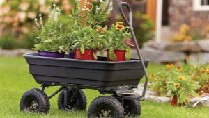 Как выбрать садовую четырехколесную тележку?
