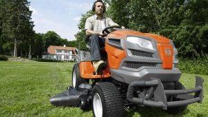 Модельный ряд садовых мини-тракторов Husqvarna