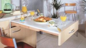 Тонкости выбора мебели для маленькой кухни