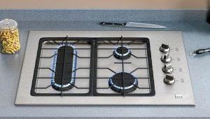 Трехконфорочные газовые плиты: особенности и советы по выбору