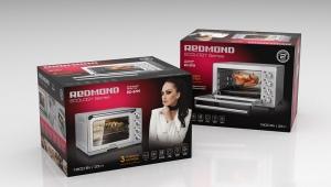 Духовые шкафы и мини-печи фирмы Redmond