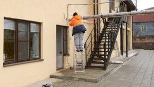 Все о строительных лестницах
