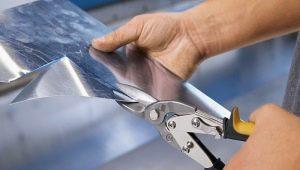 Ножницы по металлу: особенности, разновидности и советы по выбору