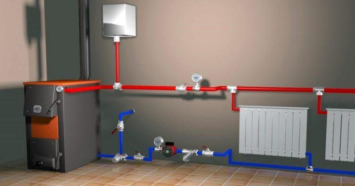 Установка однотрубной системы отопления