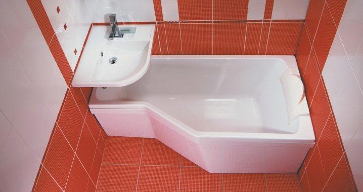 Раковина совмещённая с ванной