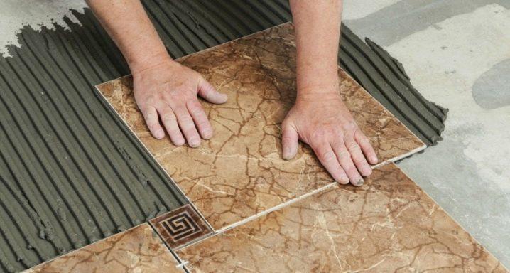 Какова технология укладки напольной плитки