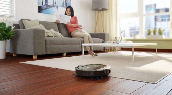 Особенности роботов-пылесосов Philips