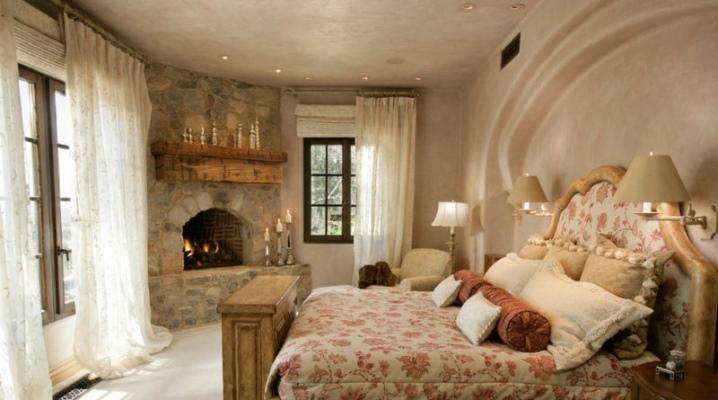 Спальня в стиле «Кантри»