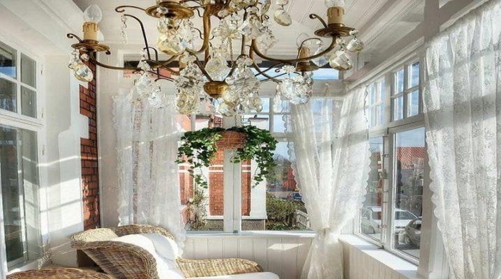Тюль на балкон