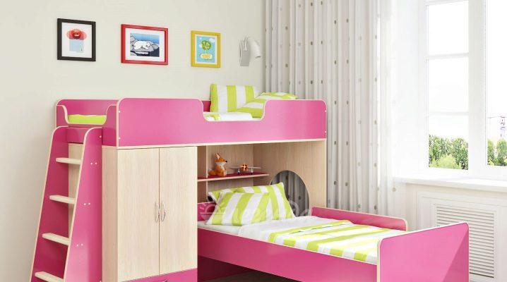 Выбираем двухъярусную кровать для девочек