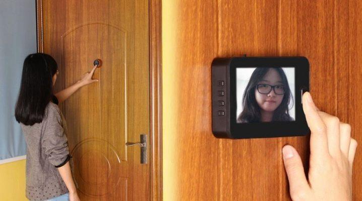 Скрытая камера входная дверь