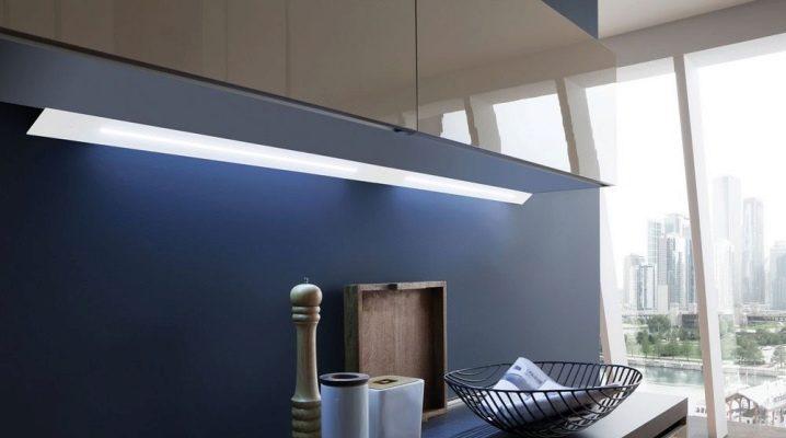 Назначение мебельных светильников