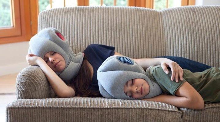 Подушка «страус»