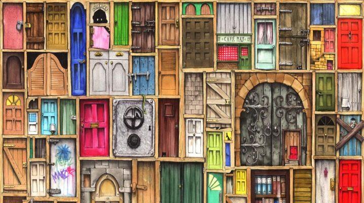 Рассматриваем виды нестандартных дверей
