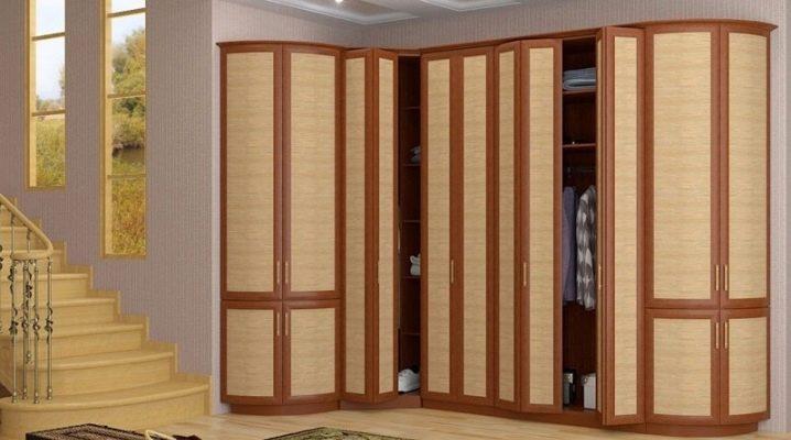 Шкаф с дверями «гармошка»