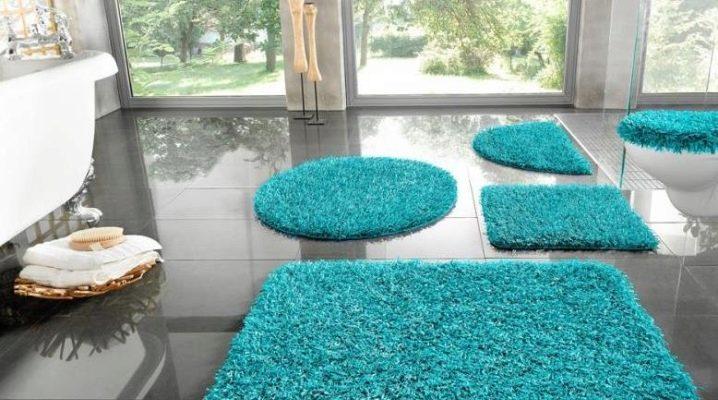 Специальные мини-коврики для ванной