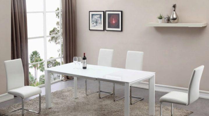 Белые столы: выбираем дизайн