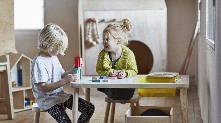 детский стол Ikea 25 фото пластиковые столики со стульями для