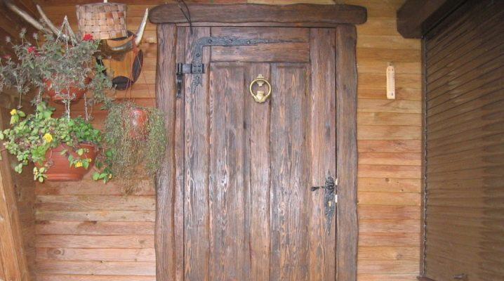 Двери из дерева под старину своими руками фото 74