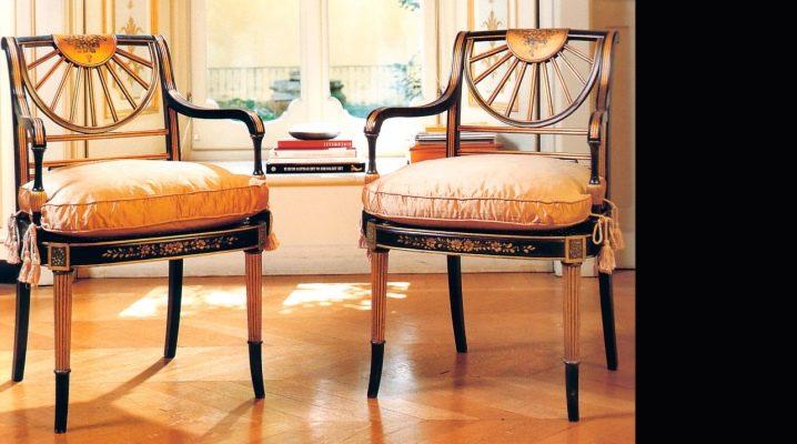 Как выбрать деревянный стул с подлокотниками?