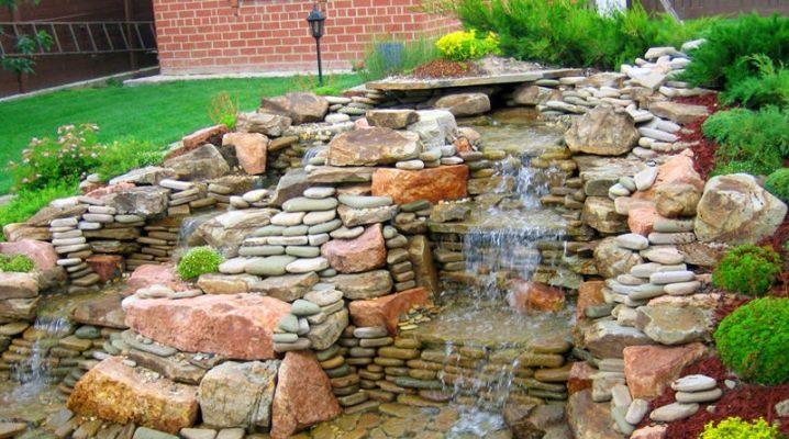 Природный камень для ландшафта, Виды камня для ландшафтного дизайна