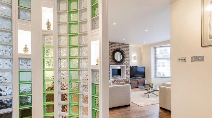 Комнатные перегородки в интерьере квартиры