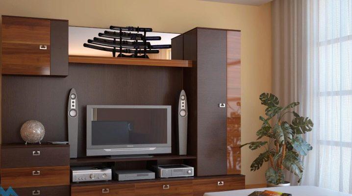 Корпусная мебель для гостиной: особенности выбора