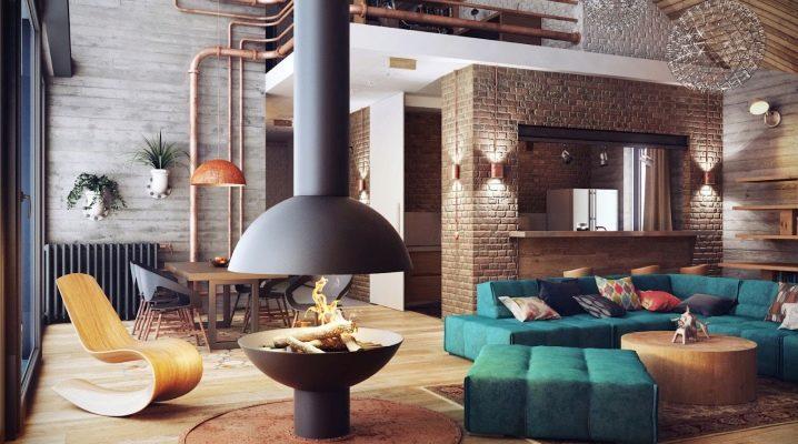 Квартиры в стиле «лофт»: небрежность и стильный аскетизм в интерьере