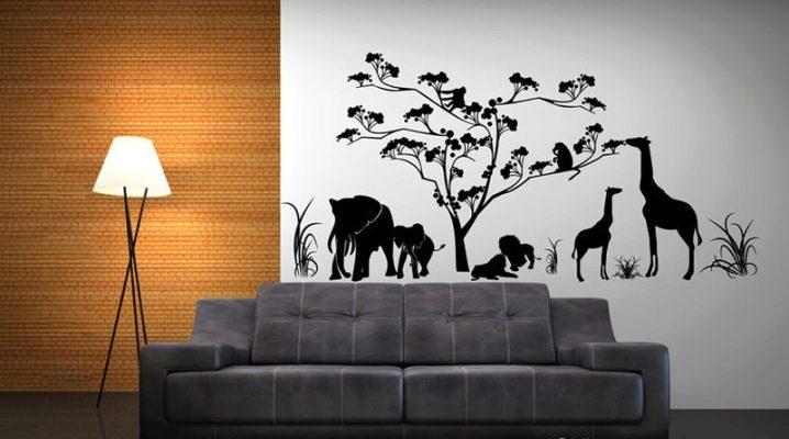 Наклейки на обои для эксклюзивного декора стен