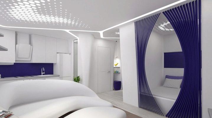 Дизайн однокомнатной квартиры площадью 36 кв. м: идеи и варианты планировки, особености стиля интерьера