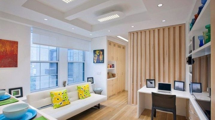 Однокомнатная квартира: правила зонирования