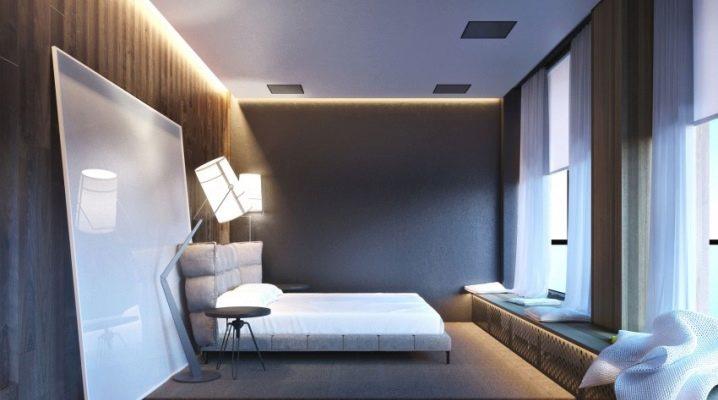 Оригинальный дизайн мужской комнаты
